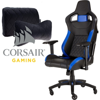 Silla Gamer Corsair T1 Race Black / Blue