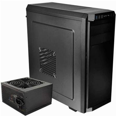 Gabinete Thermaltake V100 Negro + Fuente 450w